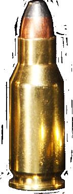 22 TCM Ammo Round