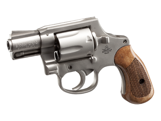 M206 Spurless Matte Nickel - 38 Special