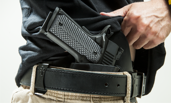 Inside the Waistband (IWB) Holsters