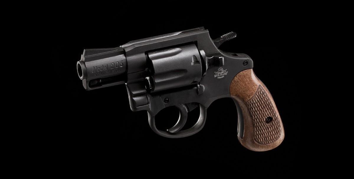 Revolver M206 38sp left angled