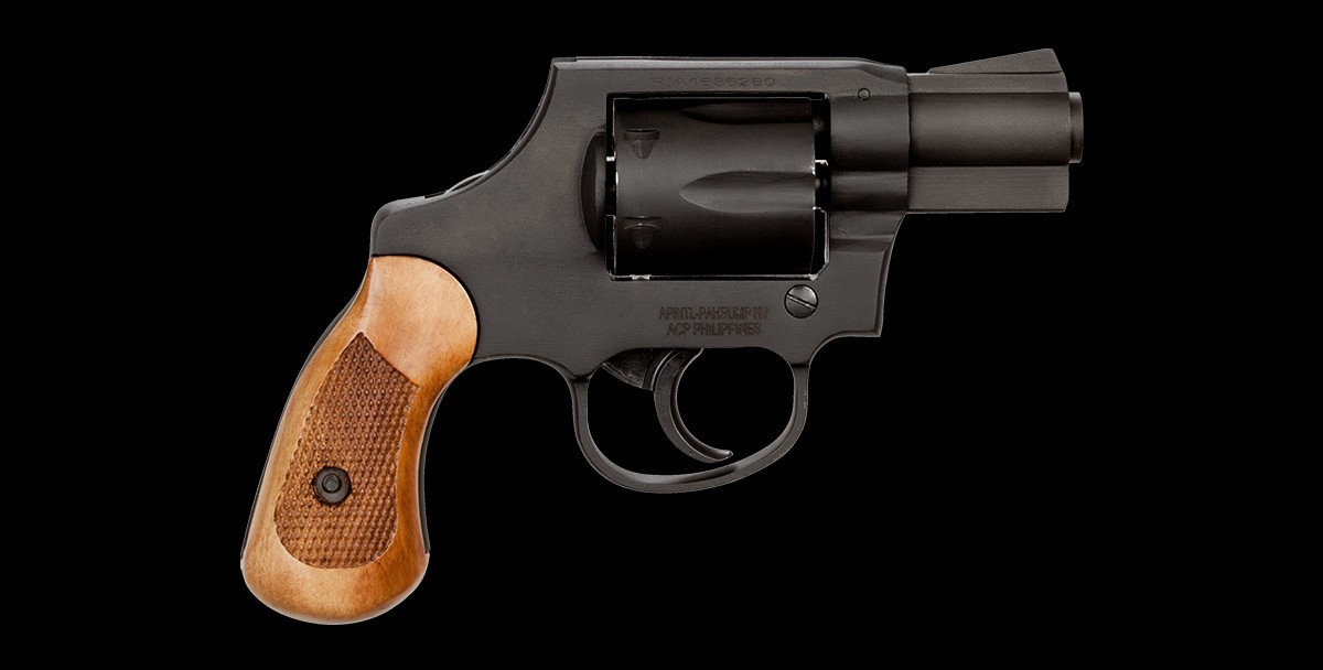Revolver M206 Parkerized 38spl right profile