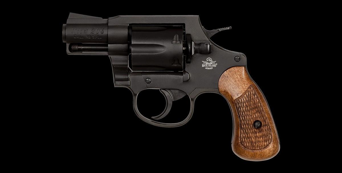Revolver M206 38sp left profile