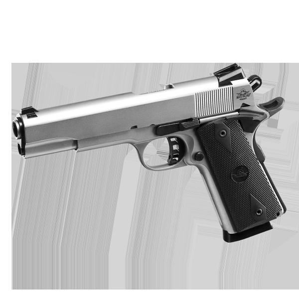 ROCK Standard FS Matte Nickel - 45 ACP