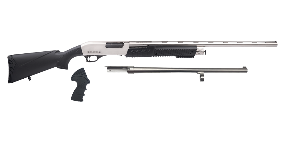 PA 3-in-1 Chrome Shotgun