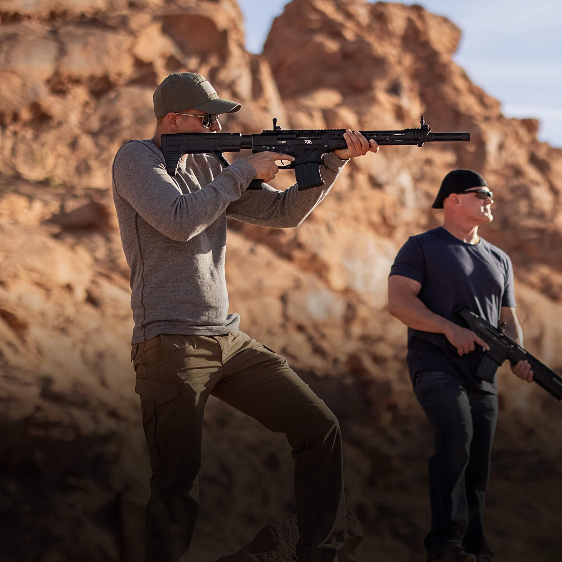 VR82 Range Shooting